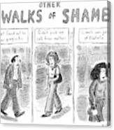 Other Walks Of Shame -- Just Found Canvas Print