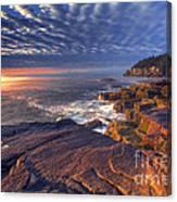Otter Cove Sunrise Canvas Print