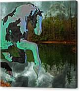 Otter Lake Phantom Canvas Print