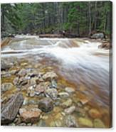Otter Rocks - White Mountains New Hampshire Usa Canvas Print