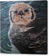Ottertude Canvas Print