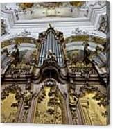 Ottobeuren Abbey Organ Canvas Print