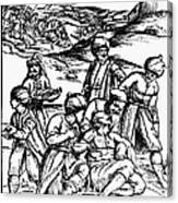 Ottoman Surgery, 1573 Canvas Print
