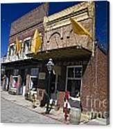 Otts Assay Office And The South Yuba Canal Building Nevada City California Canvas Print