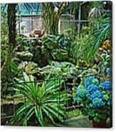 Ott's Greenhouse - Schwenksville - Pennsylvania - Usa Canvas Print