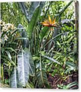 Otts Waterfall Room   Schwenksville Pennsylvania Usa Canvas Print