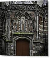 Oude Kerk Door Amsterdam Canvas Print