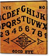 Ouija Board 1 Canvas Print