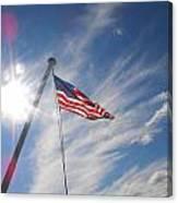 Our Flag Canvas Print