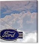 Our Ford  Canvas Print