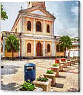 Our Lady Of Carmel Church Canvas Print