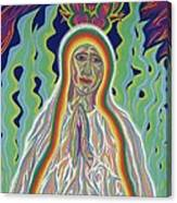 Our Lady Of Fatima 2012 Canvas Print