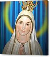Our Lady Of Fatima Canvas Print