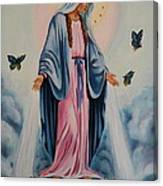 Our Lady Of Grace I Canvas Print