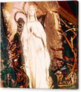 Our Lady Of Lourdes Canvas Print