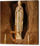 Our Lady Of Lourdes Canvas Print