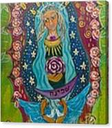 Our Lady Of Rebirth And Renewal Canvas Print