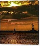 Our Lady Of The Harbor Canvas Print