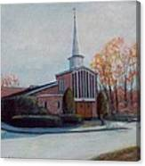 Our Lady Of The Lakeschurch Oakdale Ct Canvas Print