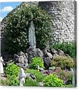Our Lady Of The Woods Shrine Lll Canvas Print