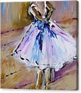 Our  Ballerina Girl Painting Canvas Print