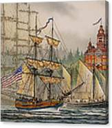 Our Seafaring Heritage Canvas Print