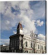 Our Town - Grants Pass In Old Town Canvas Print