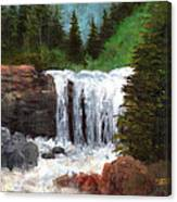 Ouray Falls Canvas Print