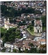 Ouro Preto Brazil 1 Canvas Print