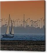 Out For A Sail Canvas Print