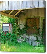 Out Of Business Canvas Print