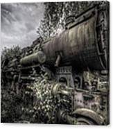 Out Of Steam Canvas Print