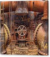 Out Of The Furnace Canvas Print