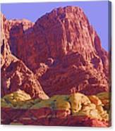 Outcrop Canvas Print