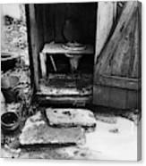 Outdoor Toilet, 1935 Canvas Print
