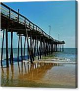 Outer Banks Pier South Nags Head 2 5/22 Canvas Print