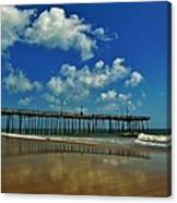Outer Banks Pier South Nags Head 1 5/22 Canvas Print