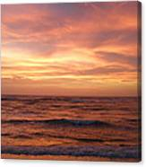 Outer Banks Sunset - Buxton - Hatteras Island Canvas Print