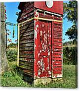 Outhouse 9 Canvas Print