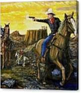 Outlaw Trail Canvas Print