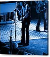 Outlaws #17 Blue Canvas Print