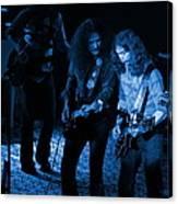 Outlaws #25 Crop 2 Blue Canvas Print