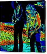 Outlaws #31 Crop 2 Art Psychedelic Canvas Print