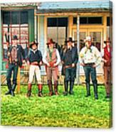 Outlaws Or Lawmen Canvas Print