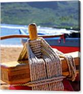 Outrigger Rigging Canvas Print