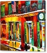 Outside Pat O'brien's Bar Canvas Print