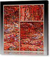 Outside The Box - Abstract Art Canvas Print