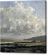 Outskirts Of Trouville Canvas Print
