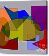 Ovals Squares Canvas Print