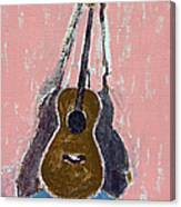 Ovation Legend Ltd Guitar Canvas Print